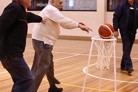 Walking Basketball— Seniors